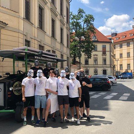 Prag: 2-timmars ölbike tur Bild