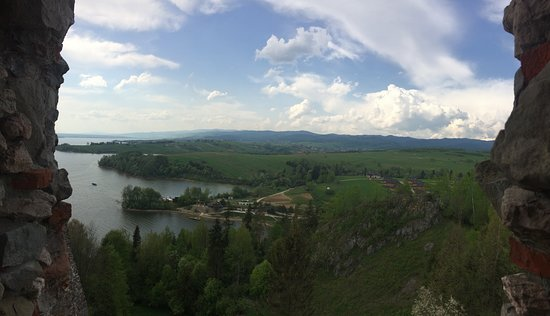 Czorsztyn Castle: z zakmu rozpościera się piękny widok na okolicę