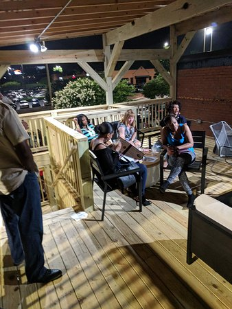Savoy Bar and Grill: New Patio