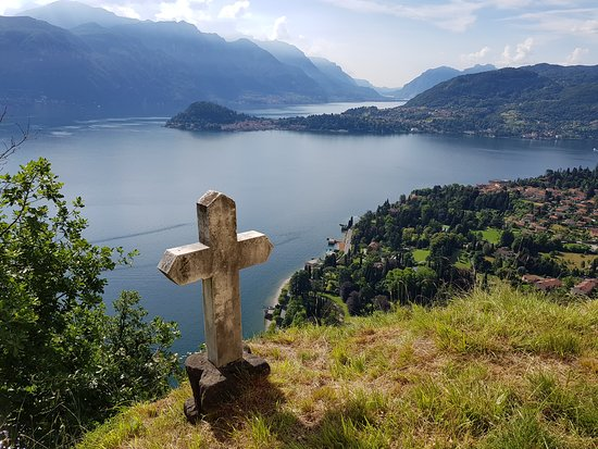 Griante, Italia: Views from the church