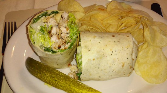 Shillington, PA: Chicken Caesar wrap