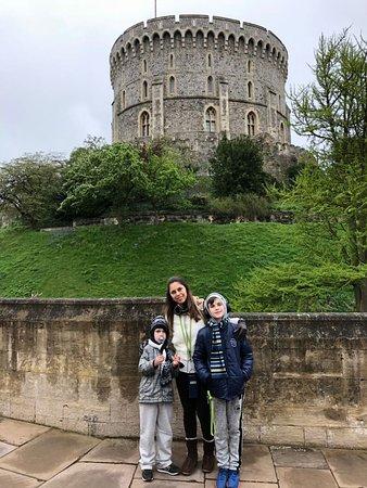 قلعة وينسور: torre redonda