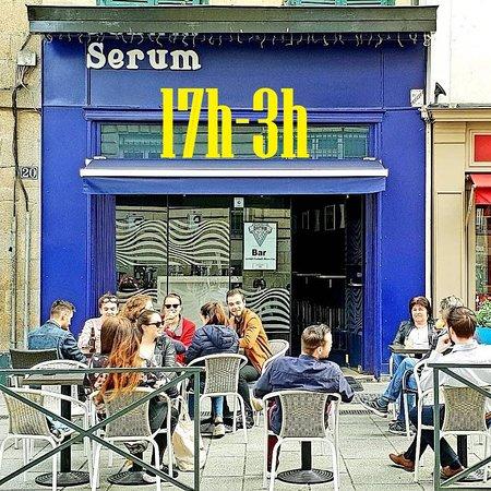 Rennes, Francia: Serum est désormais un bar de nuit et ouvre jusqu'à 3h du matin