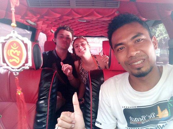 Banjar, Indonesia: Thanks for the job today pick up pantai Mas drop to labuhan lalang