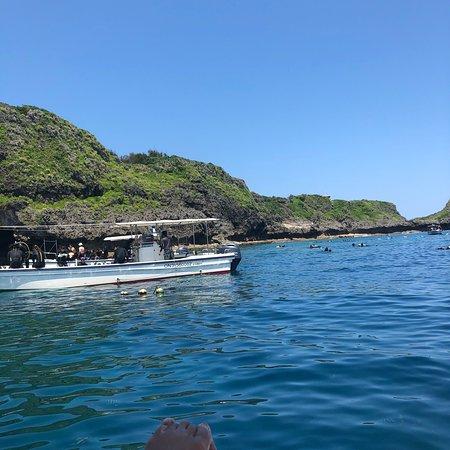 マリンクラブ バスロ, ボート青の洞窟 当日青の洞窟 ダイビング スノーケル シーカャック
