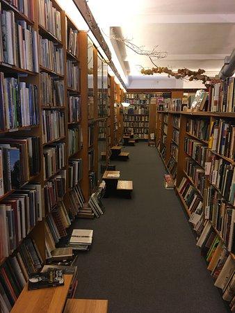 The Captains Bookshelf One Of Several Aisles Books