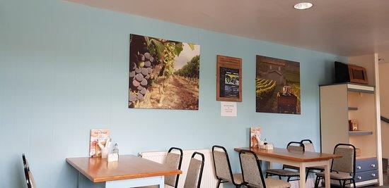 Ponterwyd, UK: Red kite cafe