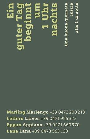 Nals, Italy: Unsere Verkaufsfilialen in #Marling, #Leifers, #Eppan und #Lana