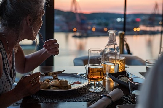Dine To A View Over Gothenburg Picture Of View Skybar