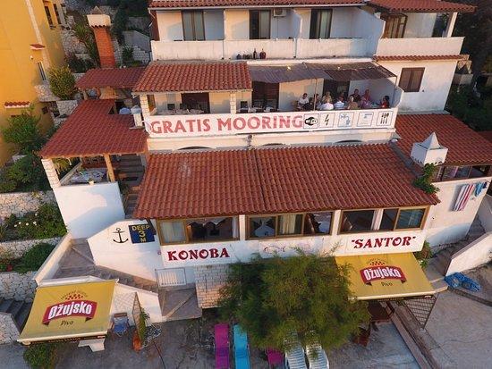 Zaklopatica, Hırvatistan: Konoba Santor