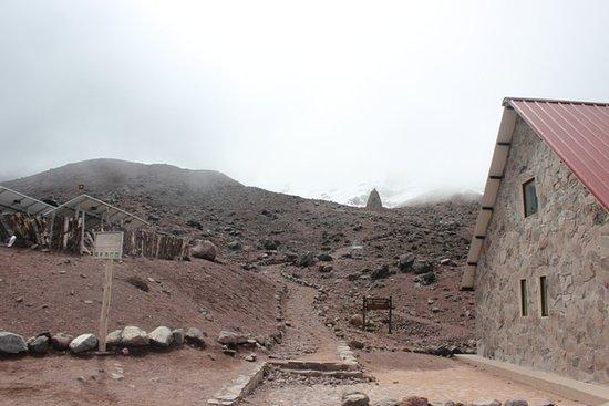 Chimborazo Province, Ecuador: Visto da inizio sentiero