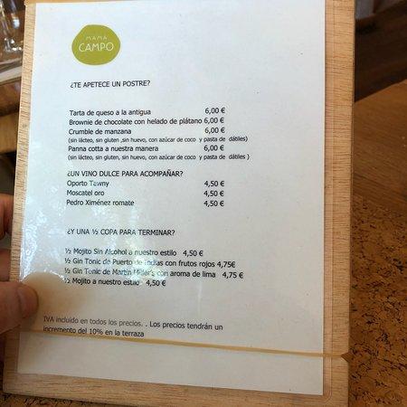 Ensalada De Quinoa Picture Of Restaurante Mama Campo