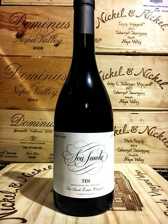 Waterfront Restaurant: We received our allocation of Sea Smoke Ten for the season. The wine cellar keeps growing...