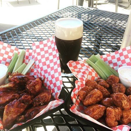 Norwalk, OH: Thursday Special: $.75 Wings Starting at 4pm (pictured with a Draft Guinness)