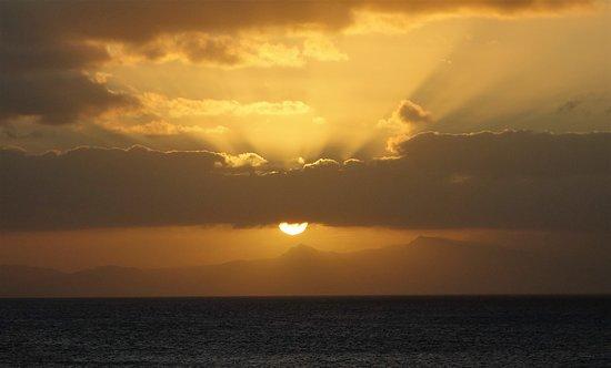 Maio, Cabo Verde: Coucher de soleil