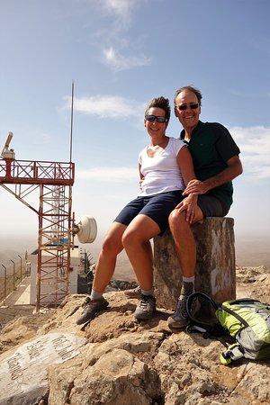 Maio, เคปเวิร์ด: Au sommet du Monte Penoso