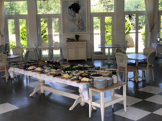 Datca Doris Hotel: Restaurant ve kahvaltı
