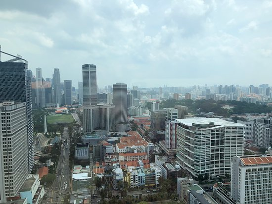 Andaz Singapore: View from room.