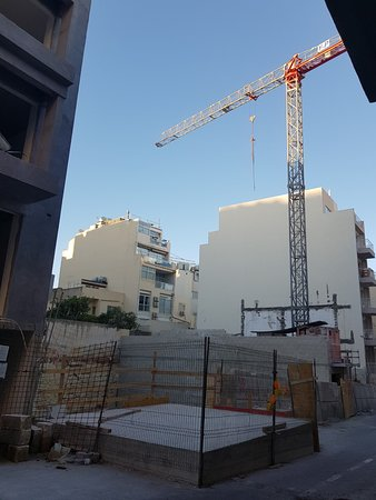 Argento Hotel: Building work very close by!