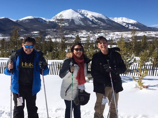 Frisco Adventure Park: 1st time Nordic Skiing!