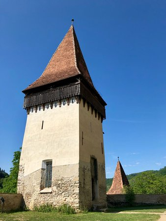Biertan, Romania: tower for couples considering divorce