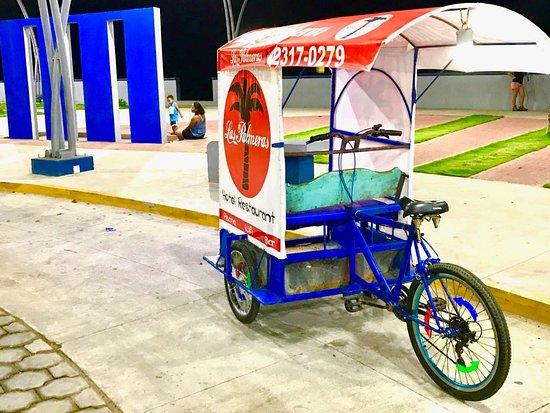 Las Penitas, Nicaragua: our own tricycleta to help you get around