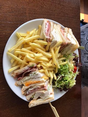 Bridge of Orchy, UK: Club Sandwich