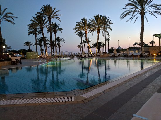 Constantinou Bros Asimina Suites Hotel: View from dinner