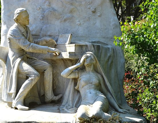 Monument a Frederic Chopin