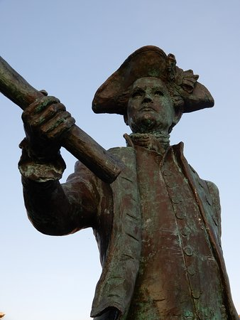 Famous Naval Officer - George Vancouver statue