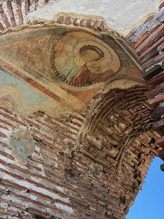 Perushtitsa, Bulgaria: remains of frescoes