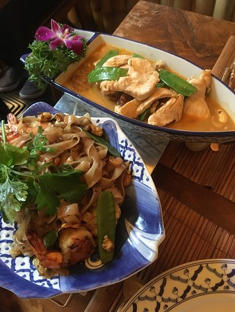 Zuid-Holland, Niederlande: Noodles en curry