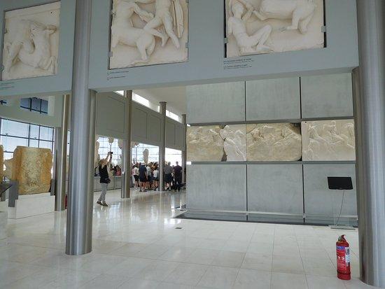 Μουσείο Ακρόπολης: Parthenon Display Acropolis Museum