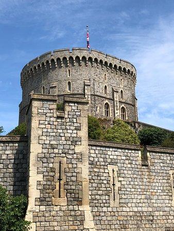 قلعة وينسور: one part of the castle