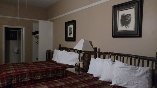 Curry Village : Two twin beds.