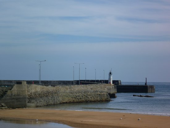Anstruther Harbour: Entrance to the harbour