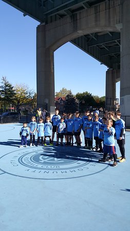 Astoria, NY: NYCFC Soccer Initiative October 2017
