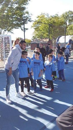 Triborough Bridge Playground B: NYCFC Soccer Initiative October 2017