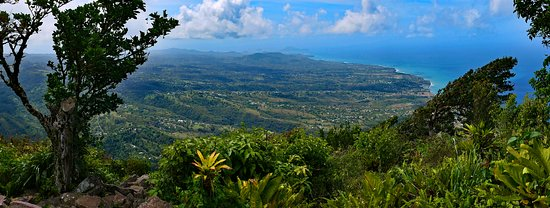 Pitons: View from the top