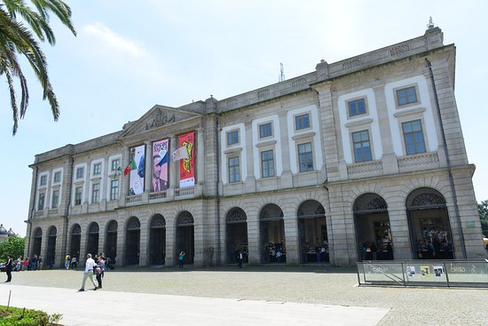 Edificio da Reitoria da Universidade do Porto