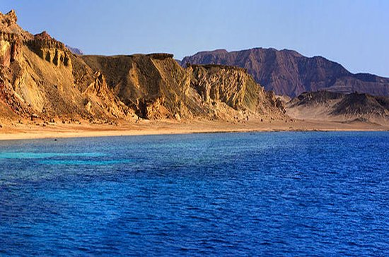 Tiran Island From Sharm El Sheikh ...