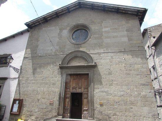 Chiesa della Santissima Trinità: facciata chiesa