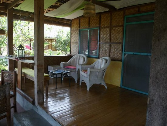 Larena, Philippines: Porch/Veranda Beach House 1