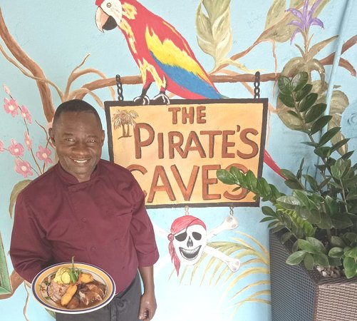 Bodden Town, Grand Cayman: Head Chef Bucknor #servicewithasmile