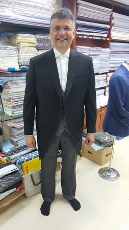 Tailored Morning Suit Tailcoat Tuxedo Suit Picture Of Om Custom