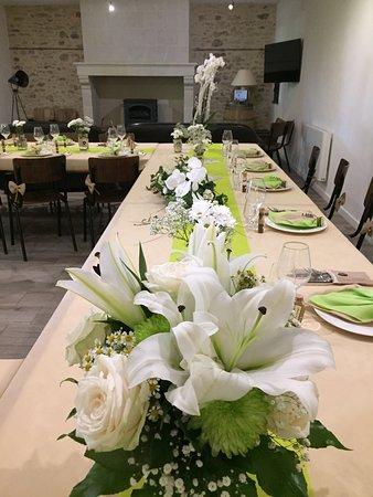 Chavagnes, Francia: La salle du chai pouvant accueillir mariages, réunions amicales et familiales, séminaires...