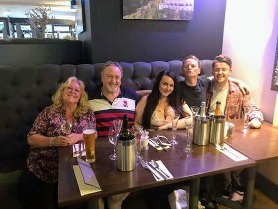 Keynsham, UK: Georgia's birthday meal