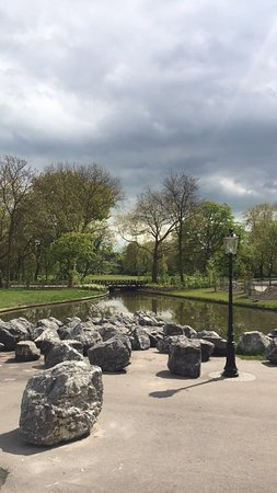 Quaint Dutch Hotel Overlooking A Beautiful Park