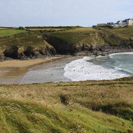 Gunwalloe, UK: Stunning views at the beach