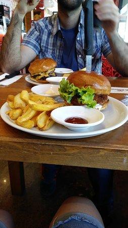 Monster Burger Photo